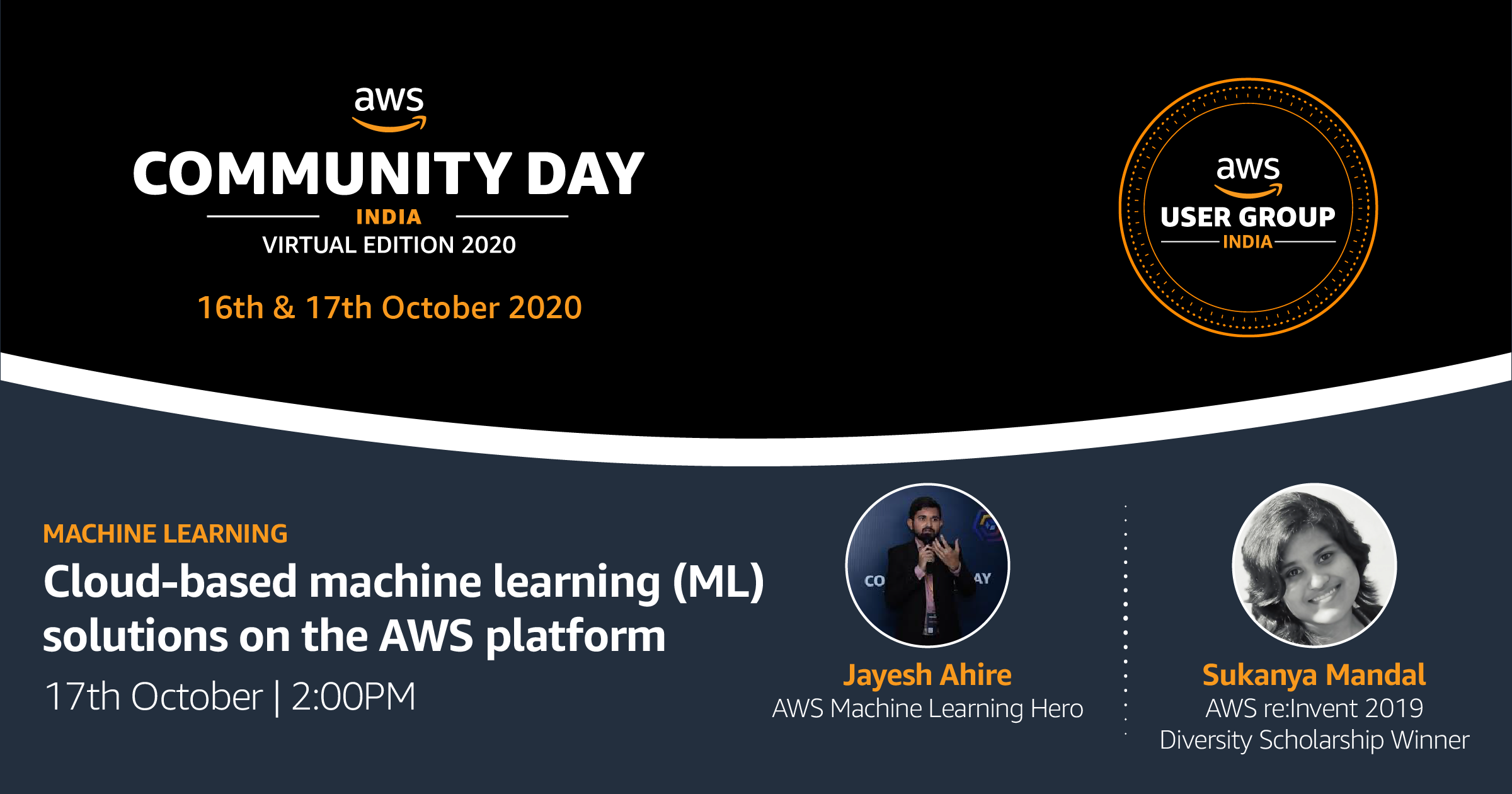 Machine Learning Workshop at AWS Community Day India 2020